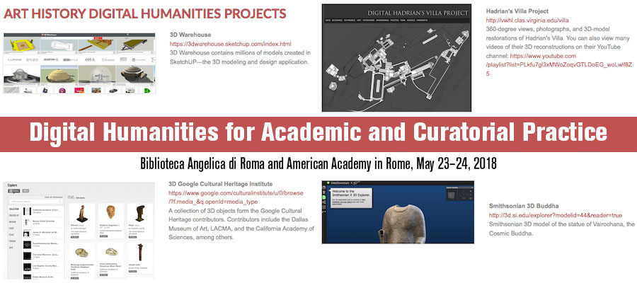 Digital Humanities for Academic and Curatorial Practice