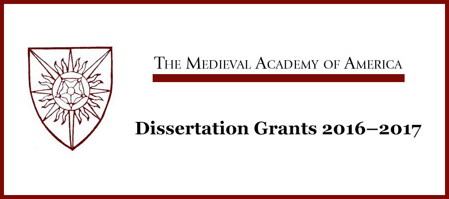 Dissertation Grants Education